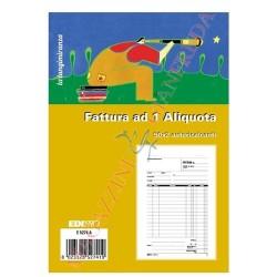 Blocco Fattura 1 aliquota 50x2 22x14,8 Edipro