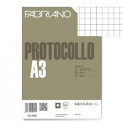 Risma carta Protocollo A4 5mm 200fg.
