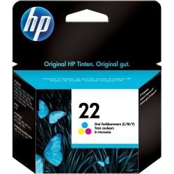 Cartuccia Hp 22 colore