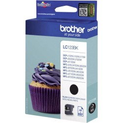 Cartuccia Brother LC123BK nera