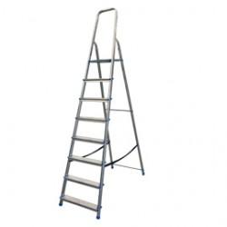 Scala alluminio domestica 8 gradini