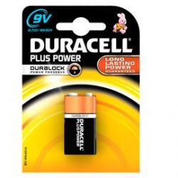 Batterie Duracell transistor 9V
